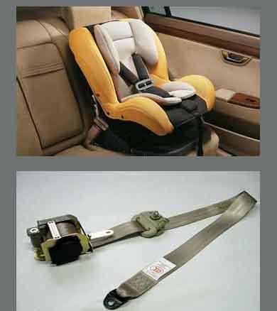 安全带和儿童安全座椅DOT认证