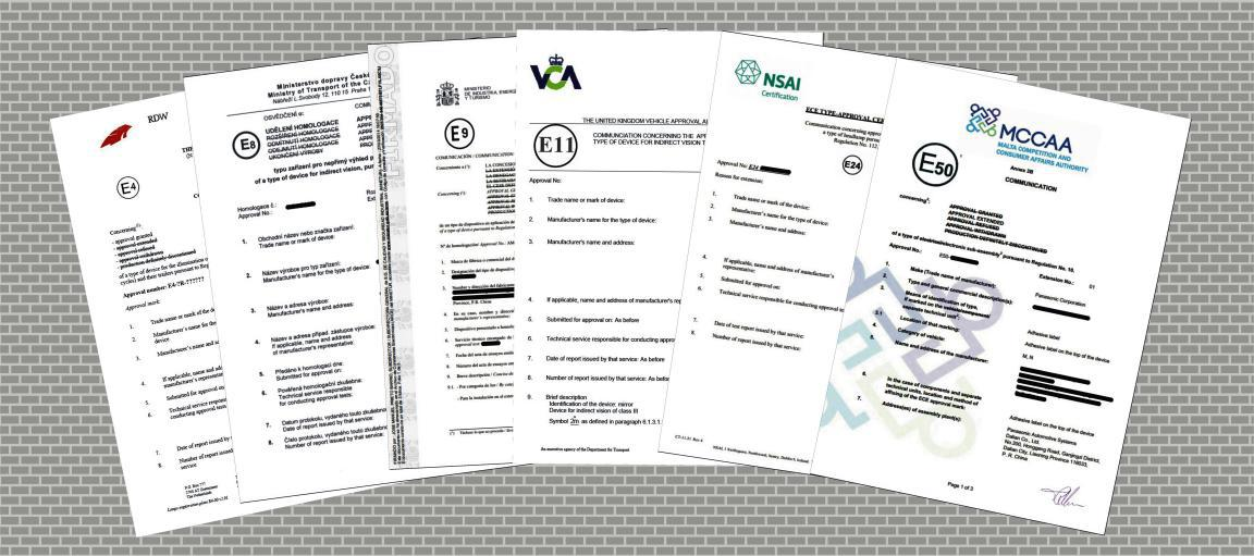 E-mark认证证书